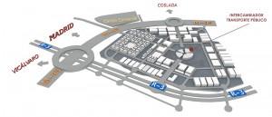 desde el principio se haya prestado una especial atención a las comunicaciones de El Cañaveral, conectándolo tanto con el centro de la capital como con el municipio de Coslada.