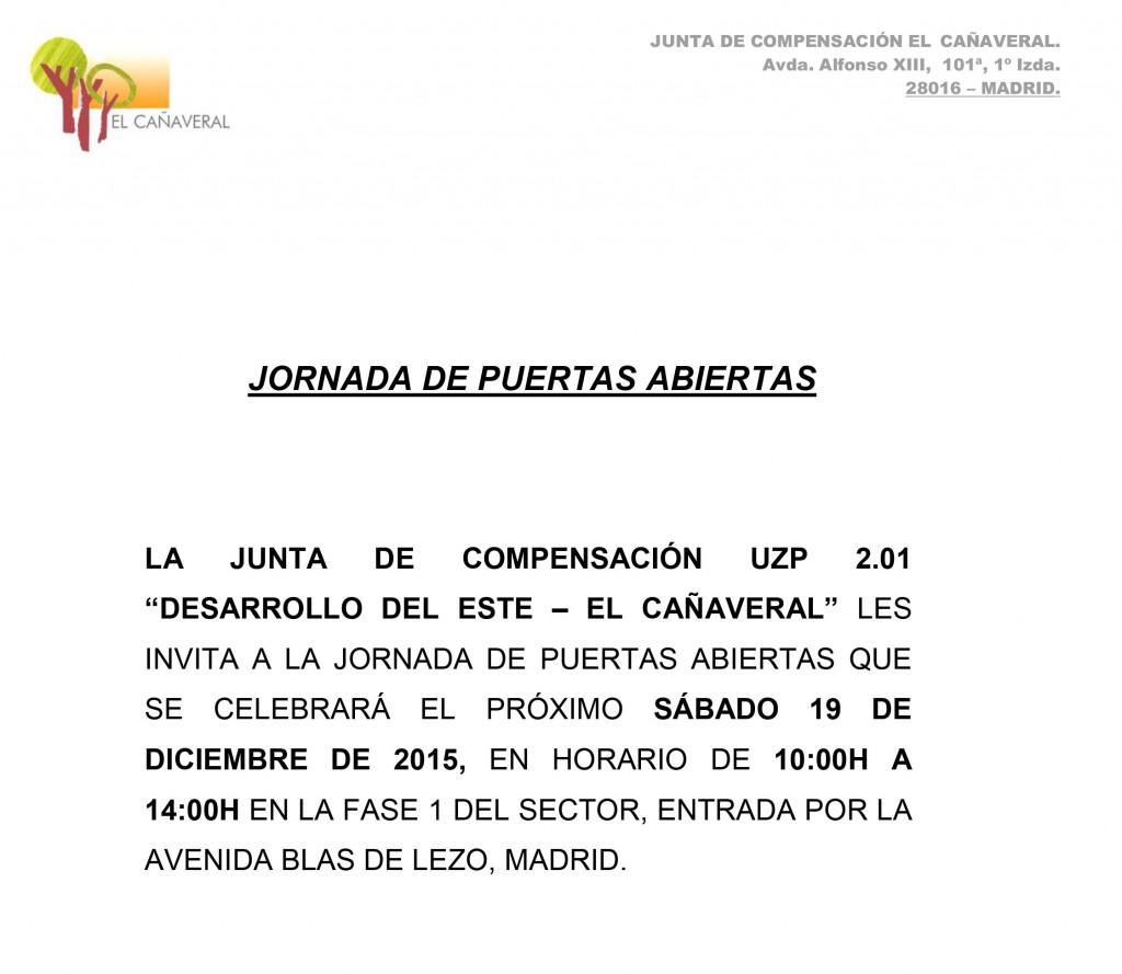 Jornada de puertas abiertas en El Cañaveral