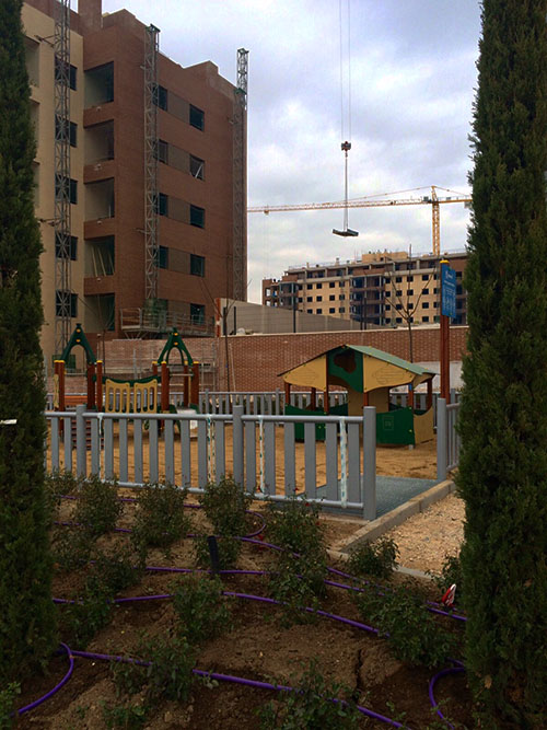 parques infantiles en El Cañaveral