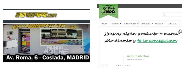 comercios online para El Cañaveral