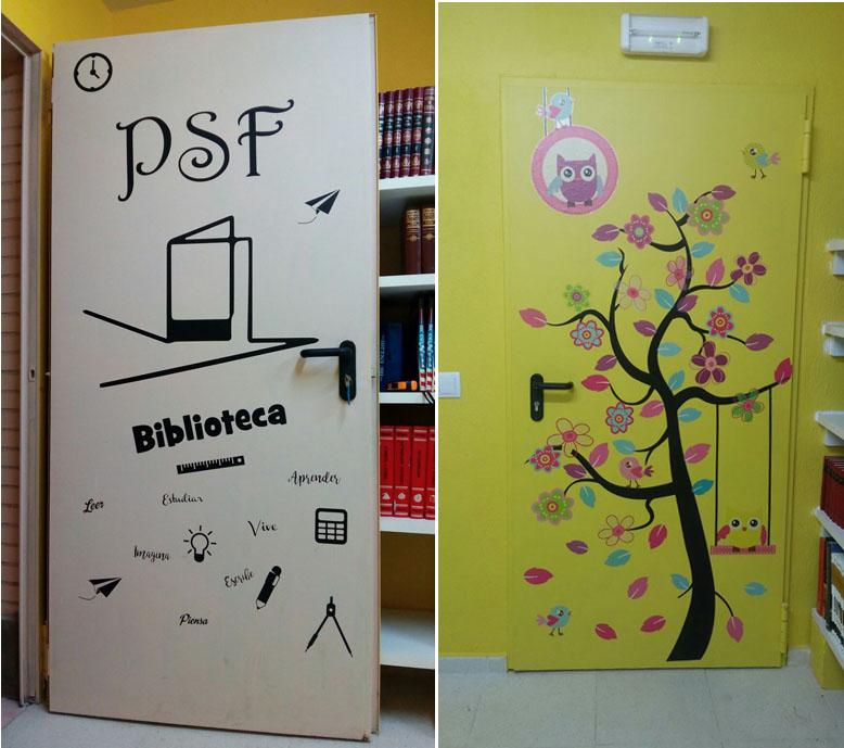 puertas_biblioteca_Día del Libro
