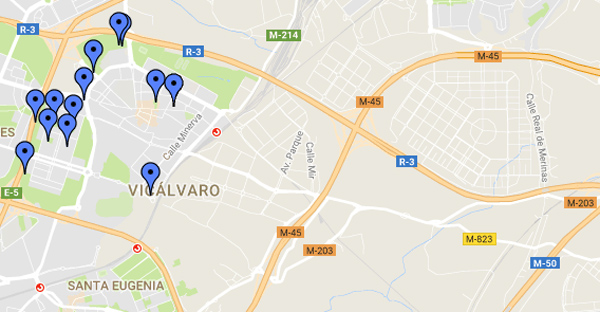 áreas caninas Vicálvaro
